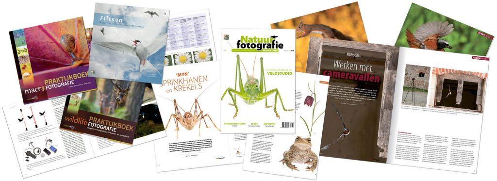 magazine en Praktijkboeken Natuurfotografie